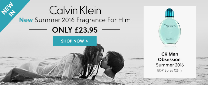 Calvin Klein New In Summer 2016 Fragrances