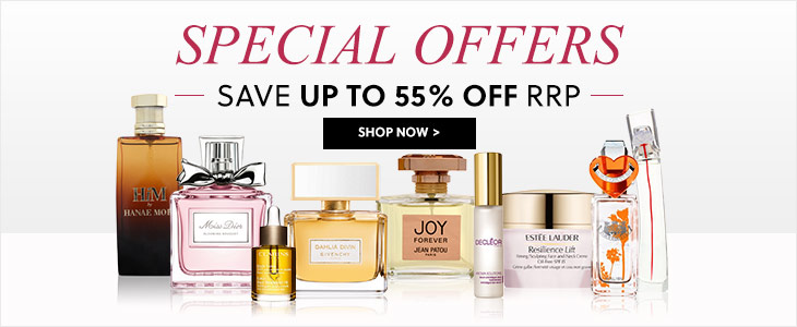 Special Offers Up To 55% Off RRP