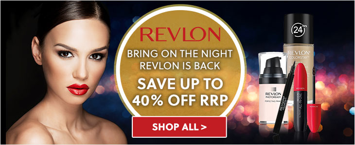 Revlon Save Up To 40% Off RRP