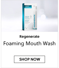 Regenerate Foam Mouthwash