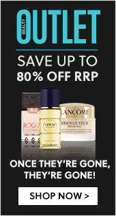 Beauty Outlet | Save Up To 80% Off RRP - Don't miss out on any more great deals. Once they're gone, they're gone!