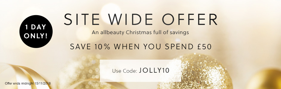 Save 10% When You Spend £50 - Code JOLLY10