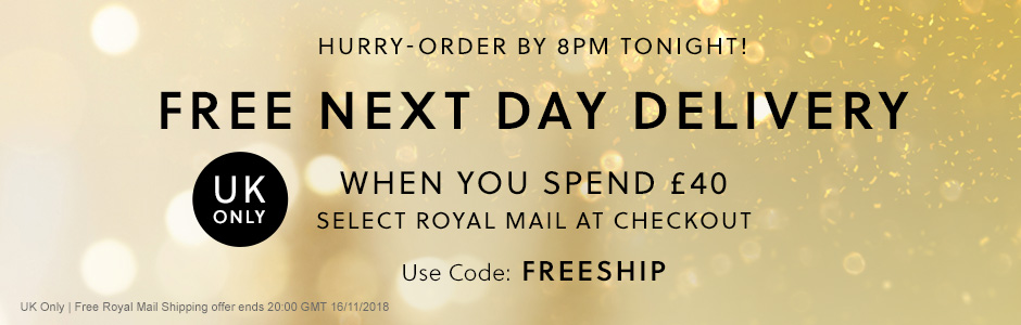 FREE Next Day Delivery - UK Only