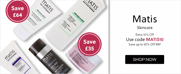 Matis Extra 10% Off with code Save up to 65% off RRP - Use Code MATIS10