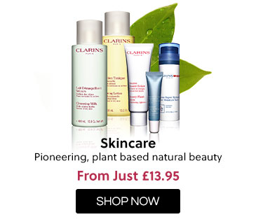 Clarins - Skincare from just £13.95