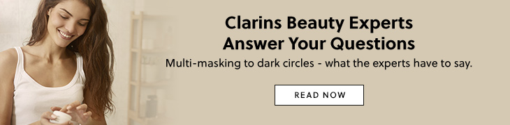 Clarins beauty experts answer your questions