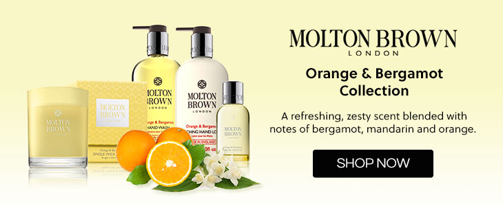 Molton Brown Orange & Bergamot Collection