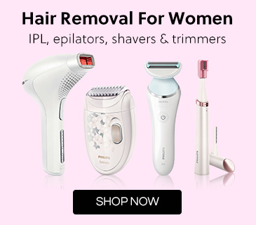 Philips women's Hair removal