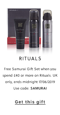 Rituals Free Gift Offer