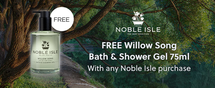 Noble IsleFree Willow Song Bath & Shower Gel 75ml