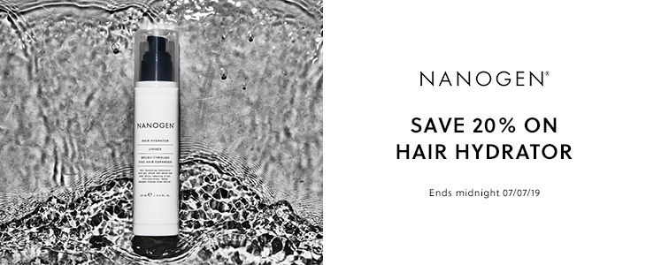 Nanogen Hair Hydrator - Save 20%
