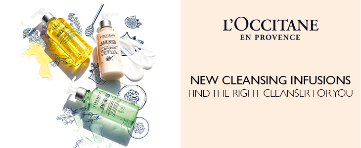 L'Occitane Cleansing Infusions