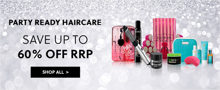 Party Ready Haircare - Save Up To 60% Off RRP
