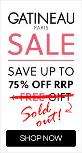 Gatineau Sale | Save up to 75% off RRP + Free Gift When you spend £40 on Gatineau - Use code GatFree