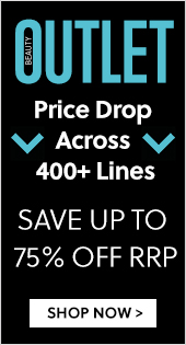 Beauty Outlet Price Drop Across 400+ Lines Save Up To 75% Off RRP