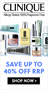 Clinique Save Up To 40% Off RRP