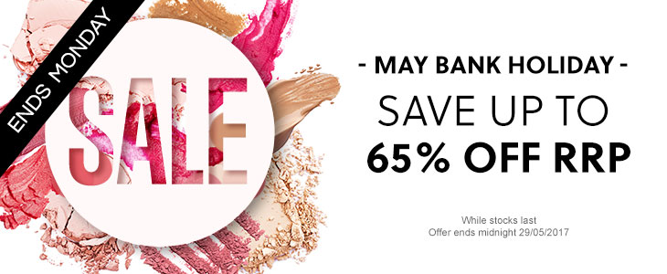 Bank Holiday Sale - Save Up To 65% Off RRP