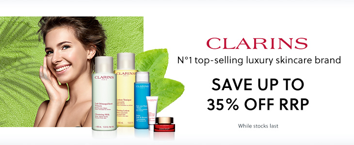 Clarins - Save Up To 35% Off RRP