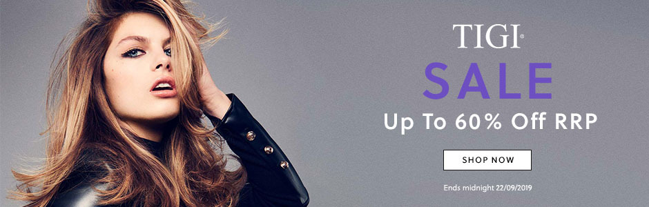 TIGI Sale - Save Up To 60% Off RRP