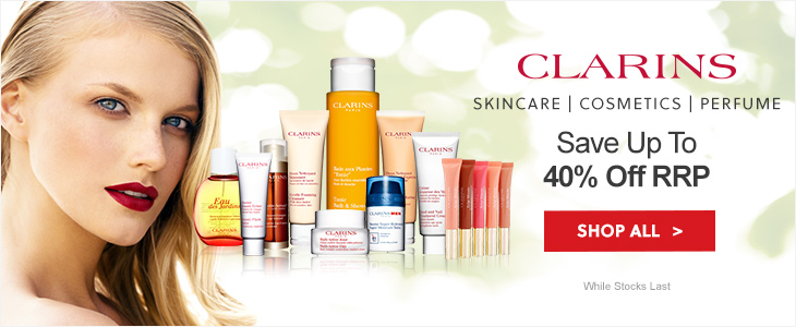 Clarins Up To 40% Off RRP