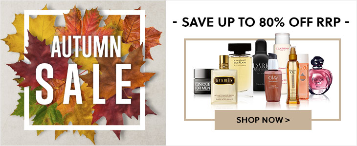 Autumn SALE Now On! - Save up to 80% Off RRP