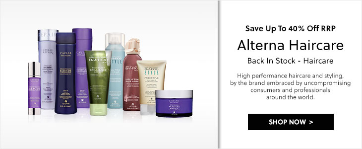 Back In Stock - Alterna Haircare - Save Up To 40% Off RRP