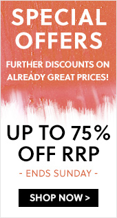 Special Offers Up To 75% Off RRP