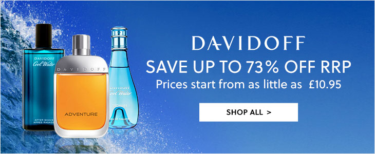 Davidoff Save Up To 73% Off RRP