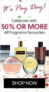 Save 50% or more off fragrance favourites