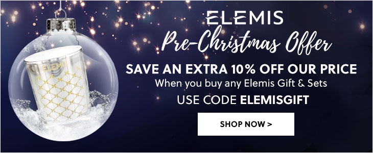 Elemis Pre-Christmas Offer - Save an extra 10% off our price