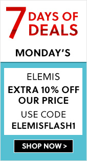 7 Days Of Deals - Elemis Flash Sale - Extra 10% off our price - Use Code ELEMISFLASH1