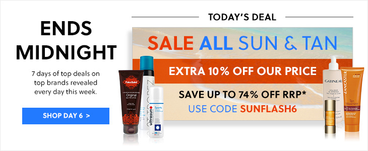 Week of Deals | Day 6! - All Sun & Tan Sale - Extra 10% Off Our Price