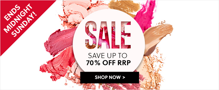 Mid Season Sale Ends Midnight Sunday! - Save Up To 70% Off RRP