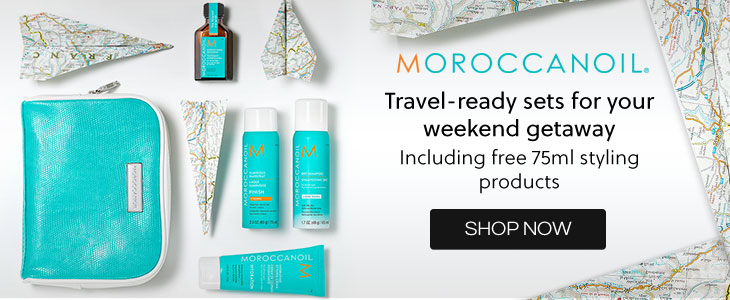 Moroccanoil - Travel ready sets for your weekend getaway