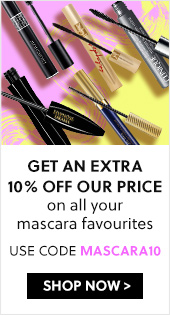 Get an Extra 10% off Our Price on all your mascara favourites - Use code MASCARA10