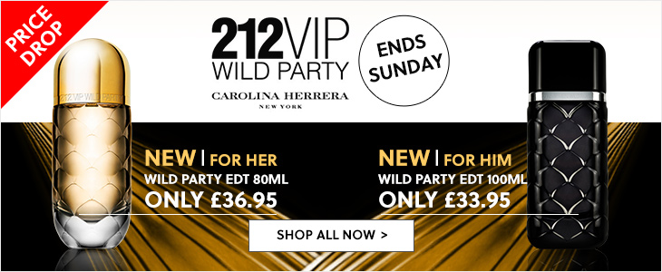 Carolina Herrera - 212 Wild Party For Him & Her Price Drop