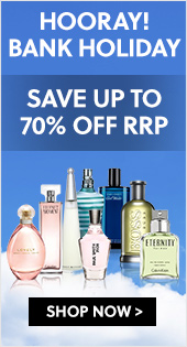 Hooray! Bank Holiday - Save Up To 70% Off RRP On Summer Fragrances From Only £10