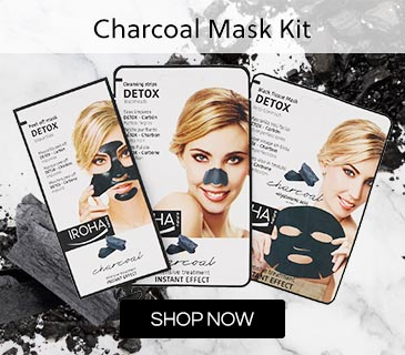 Iroha Nature Charcoal Mask Kit