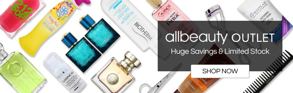 allbeauty outlet - Huge savings and limited stock