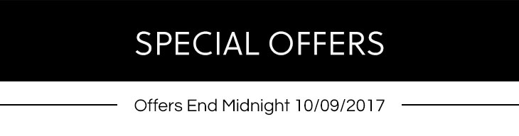 Special Offers ends 27th Aug