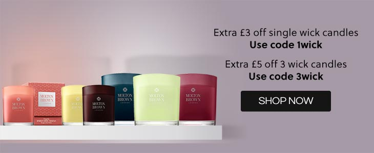 Molton Brown Extra Savings Plus Voucher Codes