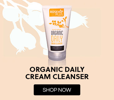 Rosehip PLUS Organic Daily Cream Cleanser