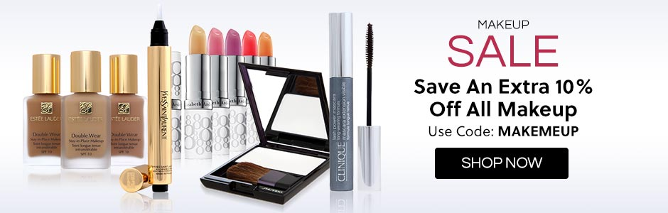 10% Off Makeup Sale