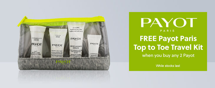 PAYOT - Free Top to Toe Travel Kit