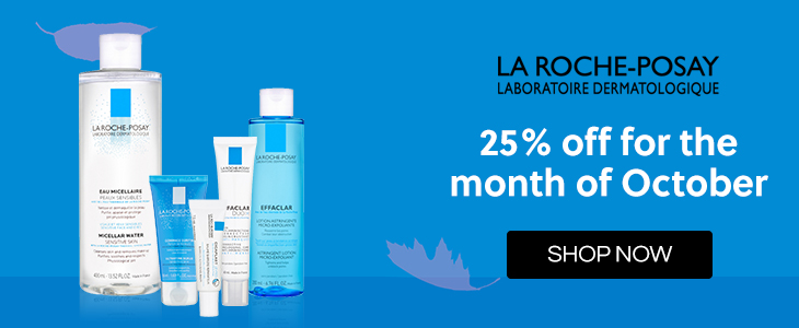 La Roche-Posay 25% Off in October