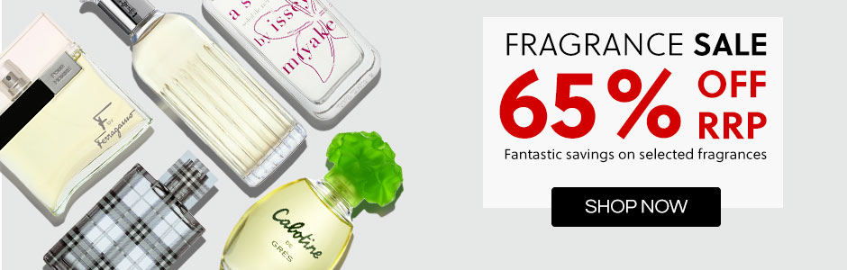 Fragrance Sale - Up To 65% Off RRP