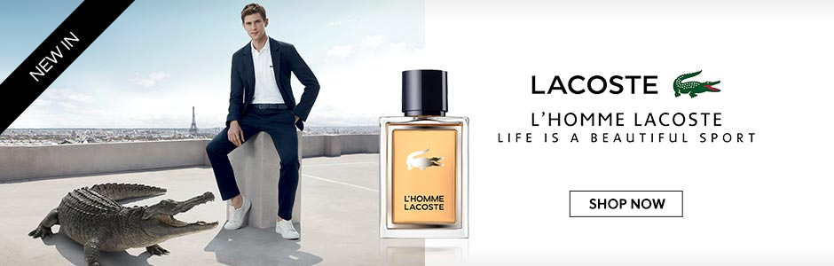 Lacoste L'homme New In