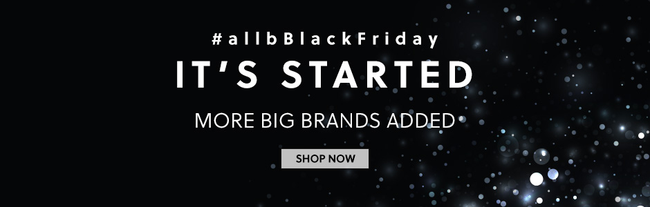 #allbBlackFriday IT'S STARTED
