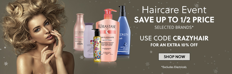 Extra 10% Off Selected Haircare Brands