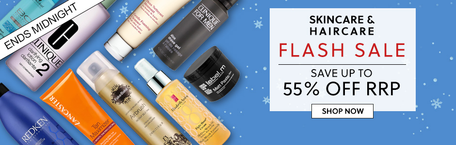 Skincare & Haircare Flash Sale! Up To 55% Off